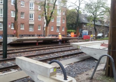 Stadtbahnbau: Haltestellen der Linie U74, 75, 76, 77, 79