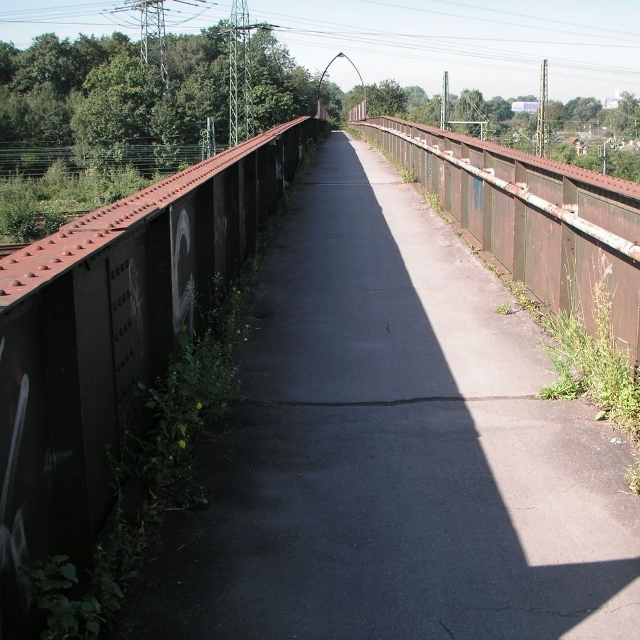 Instandsetzung der Fußgängerbrücke Kikweg