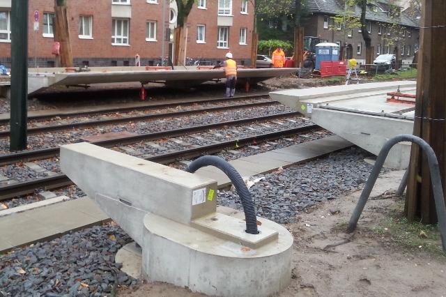 BOL und Projektkoordination am Heerdter Sandberg/Lohweg