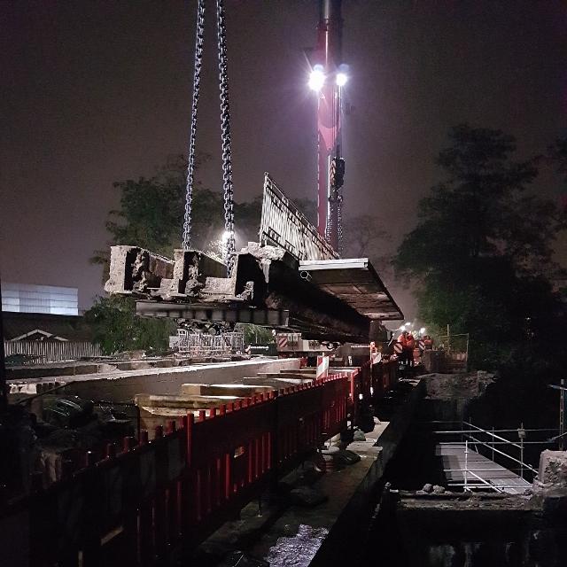 Instandsetzung der Brücken Höxterweg